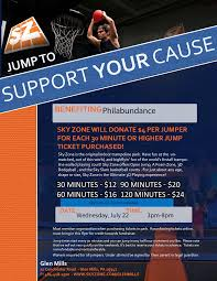 sky zone trampoline parks food drive fundraiser philabundance fundraiser flyer open fields glen mills