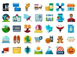 flat icons pack vol 2 basic icons flat icons 1000