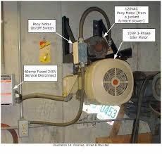 diy rotary phase converter homemade phase converter actual home made phase converter