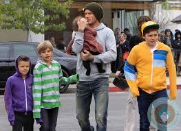 Celebrity Dad- David Beckham