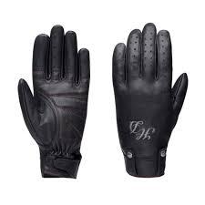 Harley Davidson <b>Womens</b> Skull <b>Rivet Leather Gloves</b> 98222-16VW ...