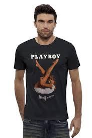 "Футболка Stanley Leads ""Playboy"" от KinoArt - <b>Printio</b> | КinoArt T ..."