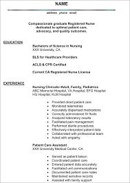 nursing curriculum vitae sample success nursing  less is more the best resume nurse curriculum vitae