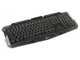 Купить <b>клавиатуру Gembird KB-G11L</b> (USB, мембранная), чёрная ...