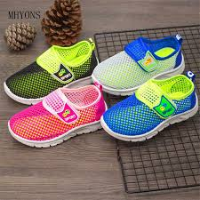 MHYONS 2019 New Kids <b>Shoes Summer</b> Non slip Children <b>Net</b> ...
