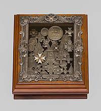 ключница с часами lefard 271 150 30 х 20 6 см