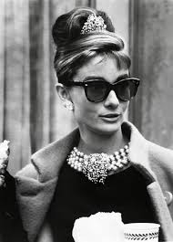Image result for Audrey Hepburn in pearls