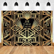 <b>NeoBack</b> Great <b>Gatsby</b> 20s Style Backdrop 1920's Retro Flapper Girl ...