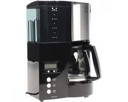 <b>Кофеварка капельная Melitta Optima</b> Glass Timer, черная ...