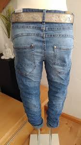 Strass <b>38-48</b> Karostar Chino <b>BIG SIZE</b> Boyfriend <b>Italy</b> Style Jeans ...