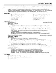 best analyst resume example livecareer choose