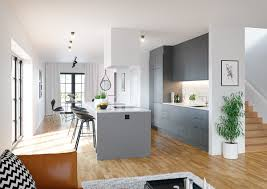 Gray And White Kitchen Designs 40 Gorgeous Grey Kitchens