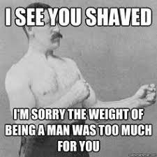 Overly Manly Man on Pinterest | Insanity Wolf Meme, Beard Humor ... via Relatably.com