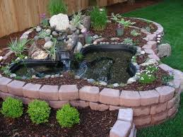 diy patio pond: above ground turtle ponds for backyards bing images