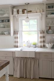 sink windows window love: love the open shelving amp cabinet curtain under the sink for the home pinterest under sink cabinets and love the