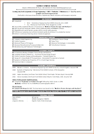 Resume Format For Mca free sales proposal template  sample rent