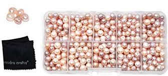 Mudra Crafts Real Freshwater Cultured Pearls for ... - Amazon.com