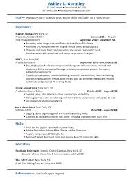 film resume template film production assistant job resume ashley l gormley film editor traditonal resume