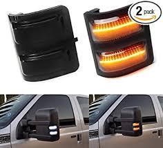 Automotive <b>Dynamic</b> Mirror LED Side <b>Lights Turn Signal Lamps</b> ...