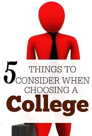 things to consider when choosing a college the college investor when it comes to picking a college your options are endless it s so important that choosing
