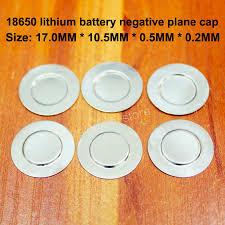 50pcs/<b>lot 32650 Lithium</b> Battery Pet Plastic Positive Hollow Flat ...