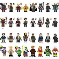 <b>DC</b> Captain <b>Marvel Avengers 4</b> Endgame Minifigures Thor Tony ...