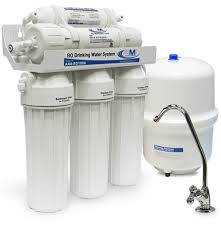 5 Stage <b>Reverse Osmosis System</b> - Point of Use Home <b>RO Water</b> ...