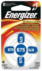 <b>Батарейка Energizer</b> Zinc Air 675 — купить по выгодной цене на ...