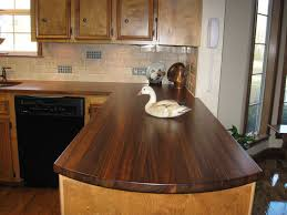 countertops popular options today: models and brown kitchen countertop options wood made