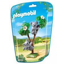 <b>Playmobil Конструктор</b> Зоопарк: <b>Семья</b> Коал купить в интернет ...