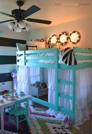 ikea bedroom bed hack girls room makeover  ikea bunk bed hack twothirtyfivedesigns