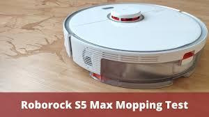 <b>Roborock S5 Max</b> Mopping Test - YouTube