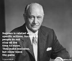Conrad Hilton Quotes at StatusMind.com