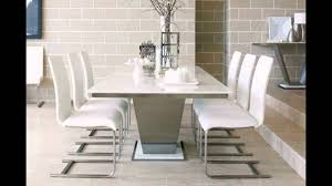 Marble Top Kitchen Table Set Marble Top Dining Table Reviews Youtube
