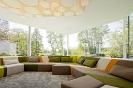 create your beautiful living room with welcoming comfort anyward com colorful sectional sofa design with gorgeous ceiling lights beautiful living room