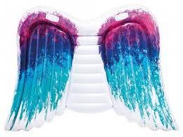 """Надувной <b>матрас Intex</b> """"<b>Крылья</b> ангела"""", 251х160 см, с ручками ..."""