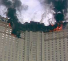 Image result for Las vegas hotel fire monte carlo