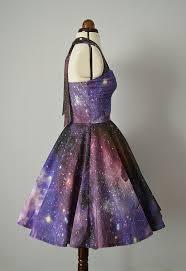 Space <b>nebula</b> dress- Womens galaxy halterneck 50's style   Galaxy ...