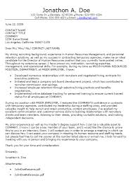 human resources cover letter human resources cover letters