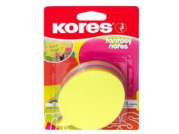 Стикеры Kores 75x75mm 100 листов Neon Green 330458 чтобы ...