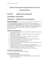 House Keeper Duties Housekeeping Job Description Resume Job Duties ... office assistant description for resume administrative assistant duties resume job description for administrative assistant