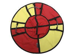<b>Тюбинг Hubster Хайп 100cm</b> Red Yellow ВО5572 2 - ElfaBrest