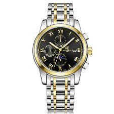 <b>WEISIKAI</b> Luxury <b>Mens</b> Automatic <b>Mechanical</b> Wristwatch Stainless ...