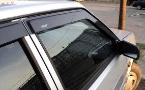 <b>Дефлекторы боковых окон</b> – защита от дождя и ветра + видео ...