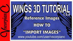 wingsd tutorial how to import image as a reference by wings3d tutorial how to import image as a reference by vscorpianc