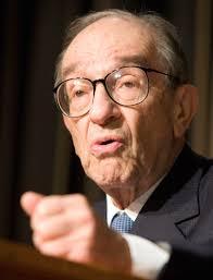 """La banque centrale n'a aucun droit à l'erreur : un mauvais calibrage provoquera à terme une inflation impossible à maîtriser"""". Alan Greenspan, interview ... - alan-greenspan"""