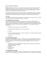 tips on how to make a good resume tk category curriculum vitae