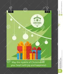 christmas brochure template stock vector image 63078337 christmas brochure template