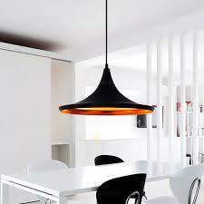 black shade one light iron material wire pendant lights black pendant lighting