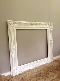 large ornate frame vintage wood baroque wall hanging leaning mirror frame shabby chic french antique dresser framed leaning mirror shabby chic